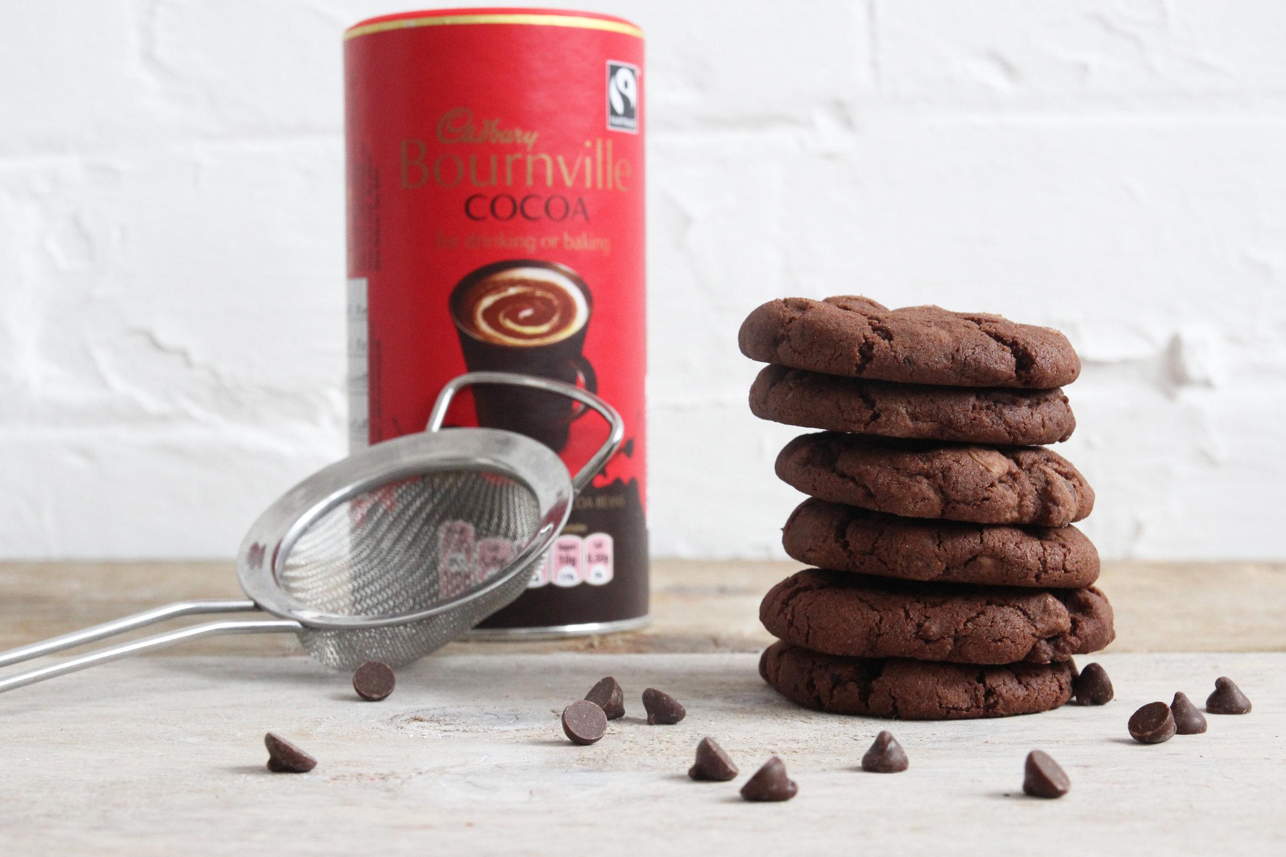 triple chocolate cookies gifts