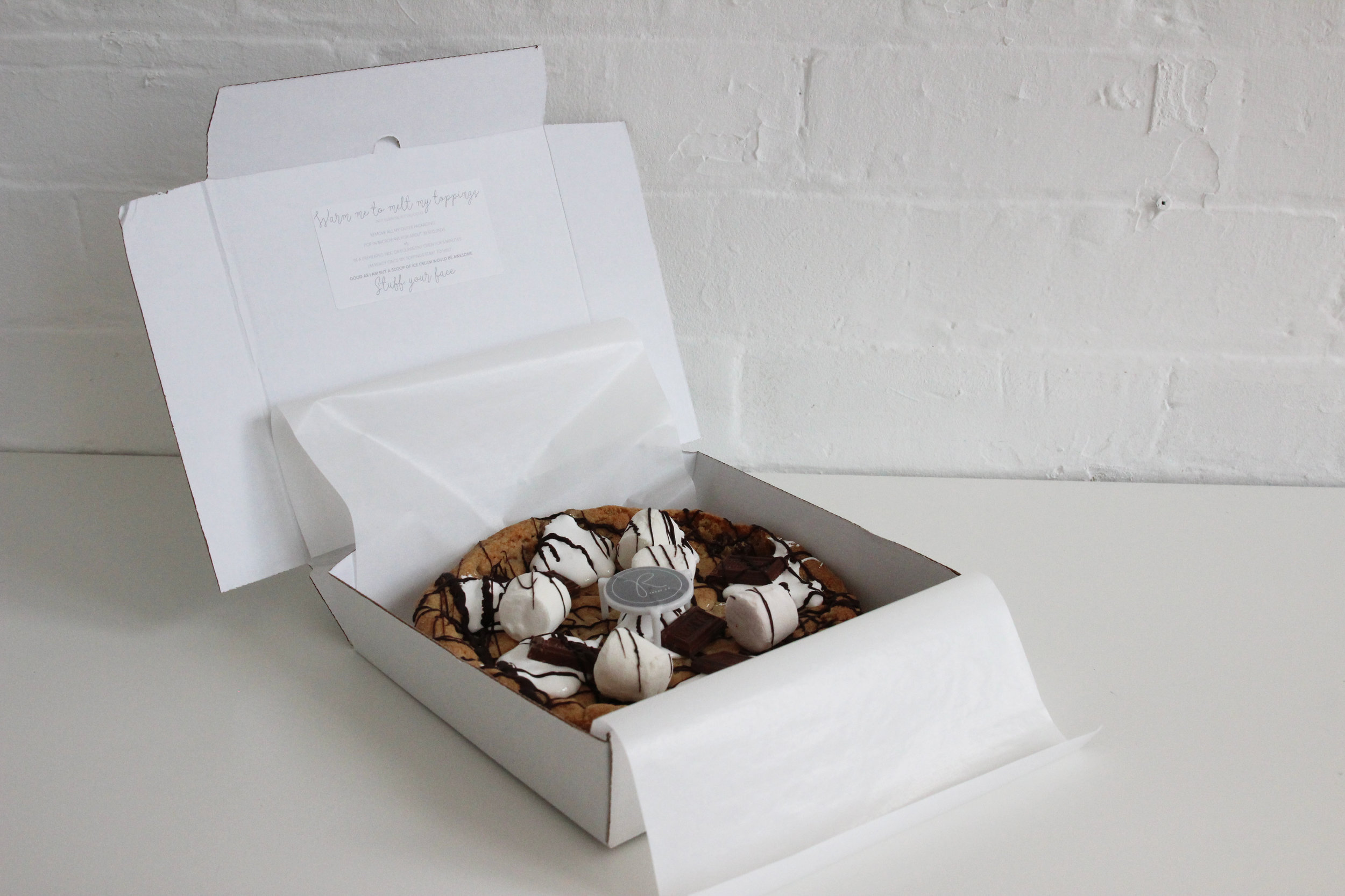 cookies delivered in the post