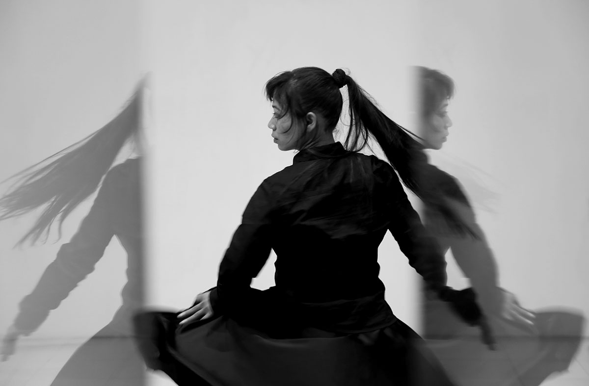 Yasmin Jahan Nupur,  Another Crazy Thing I can Do, Dance! , 2016. Courtesy of the artist. Photo courtesy of the Dhaka Art Summit and Samdani Art Foundation.Photo credit: Noor Photoface