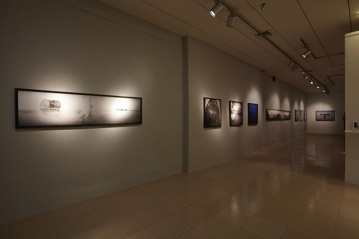Shumon Ahmed,  When Dead Ships Travel , 2015. Courtesy of the artist and Project 88, Mumbai. Photo courtesy of the Dhaka Art Summit and Samdani Art Foundation.Photo credit: Jenni Carter