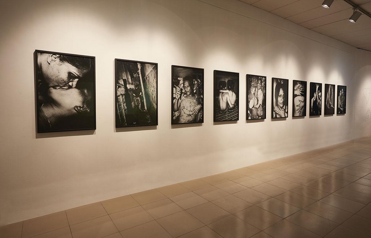 Gazi Nafis Ahmed,  Inner Face  series, 2009 - 2014. Courtesy of the artist. Photo courtesy of the Dhaka Art Summit and Samdani Art Foundation.Photo credit: Jenni Carter