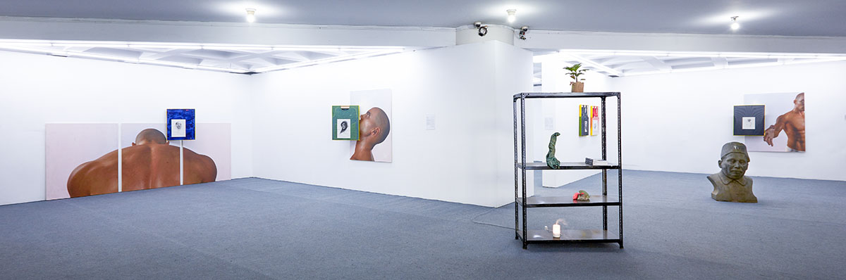 Christopher Kulendran Thomas, installation view. Commissioned and produced by the Samdani Art Foundation for the Dhaka Art Summit 2016. Courtesy of the artist, Dhaka Art Summit, Samdani Art Foundation and New Galerie, Paris. Photo credit: Jenni Carter