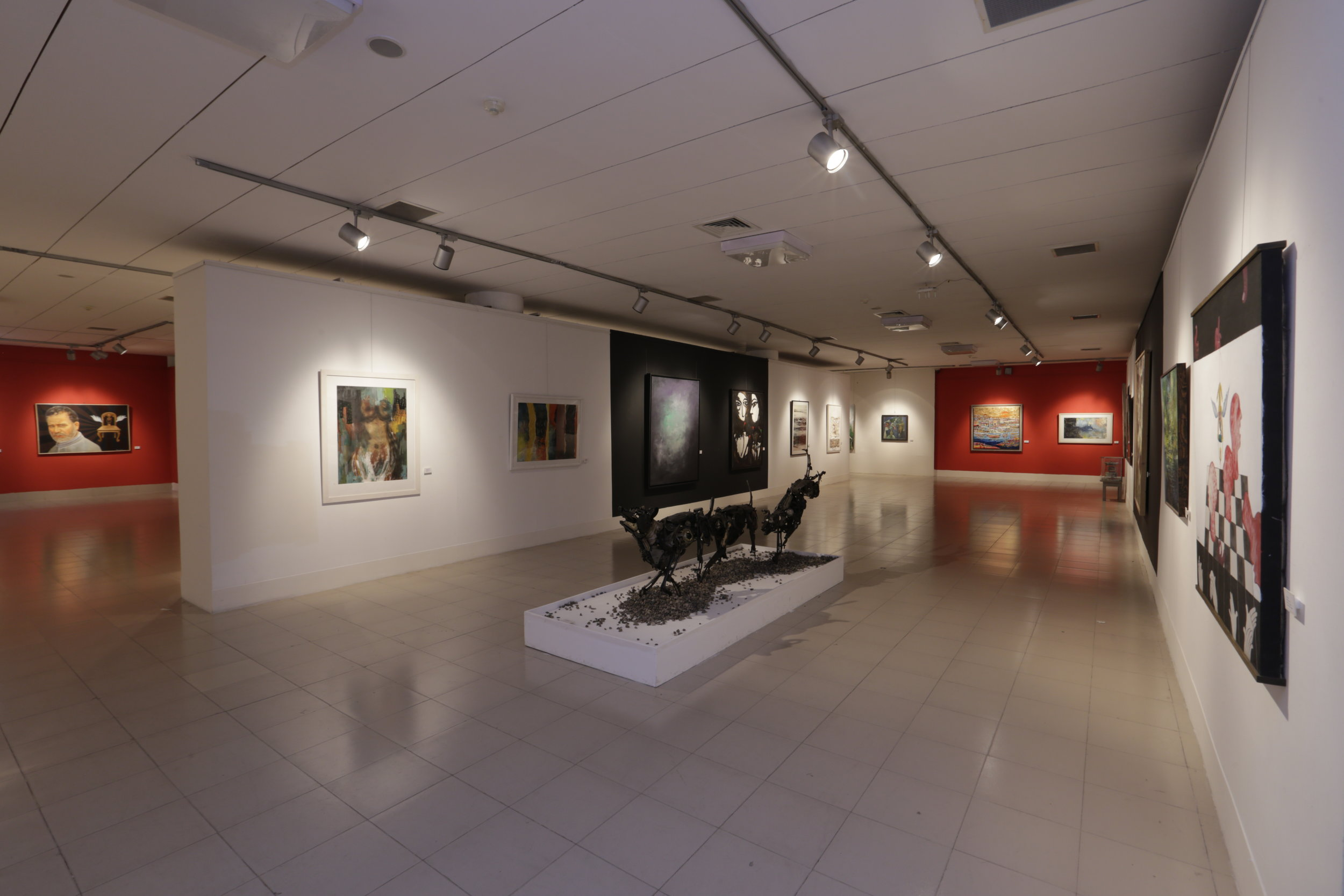 Installation image of the exhibition Expressions of Time