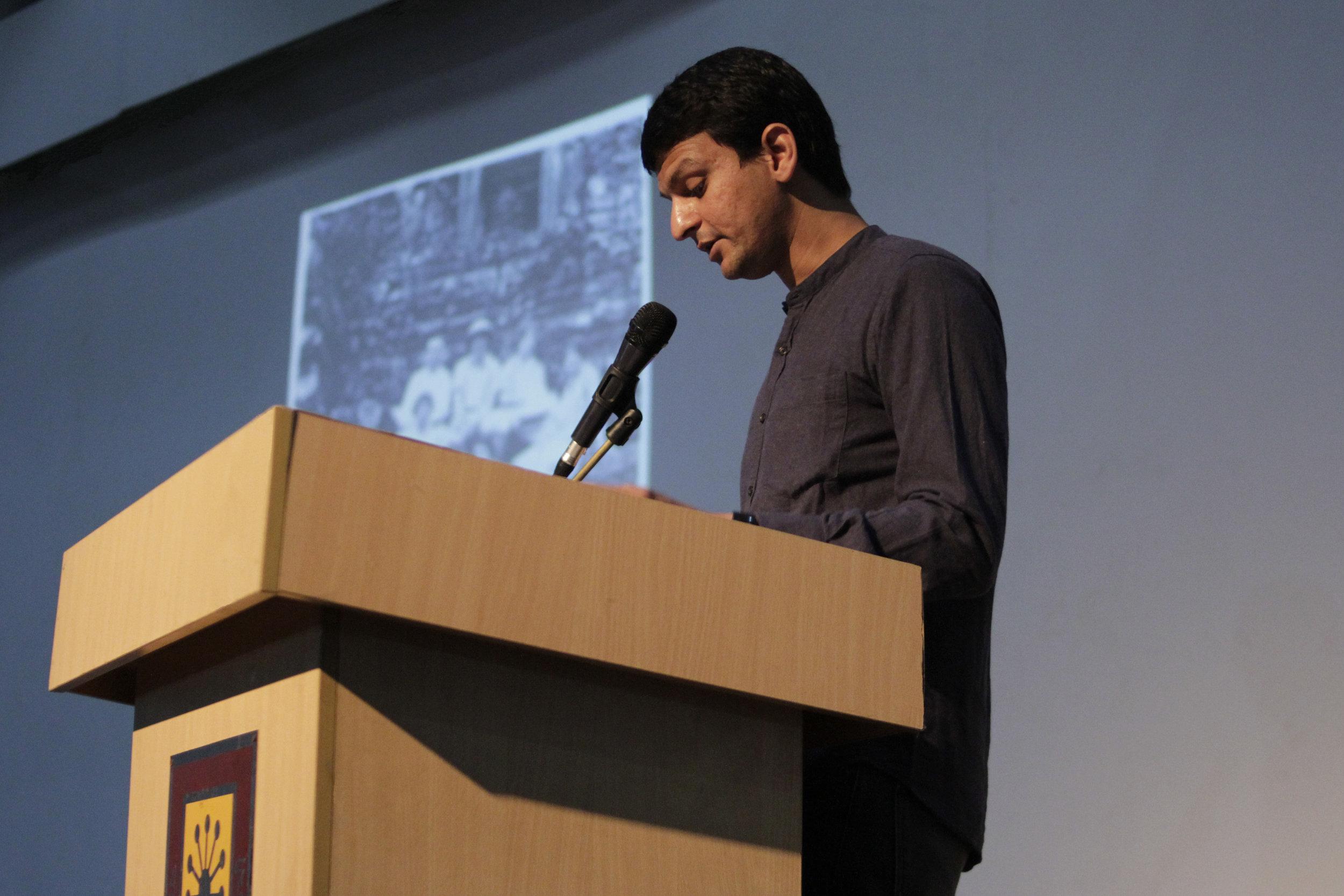 Shabbir Hussain Mustafa, Still Reading Coomaraswamy