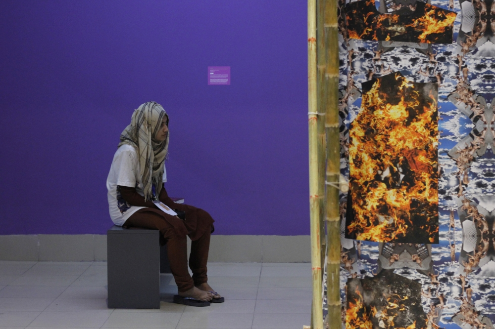 Ines Doujak: Fires - The War Against the Poor (2012-2013)