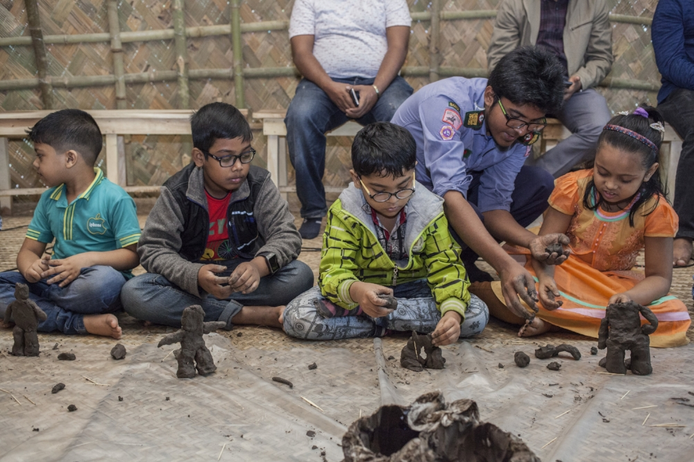Animal-Human Children's Ceramics Workshop with Ramesh Mario Nithiyendran