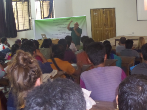 Painting Performs - A Presentation by Sandeep Mukherjee, Samdani Seminars 2015. Courtesy of the Samdani Art Foundation.
