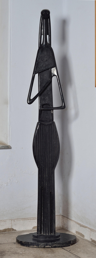 Novera Ahmed, Standing Figure, 1960. Courtesy of the Samdani Art Foundation