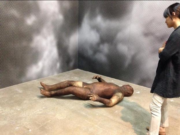 Lost and Found, 2012 by Huma Mulji is currently being showcased at the 10th Gwangju Biennale. Courtesy of the Samdani Art Foundation