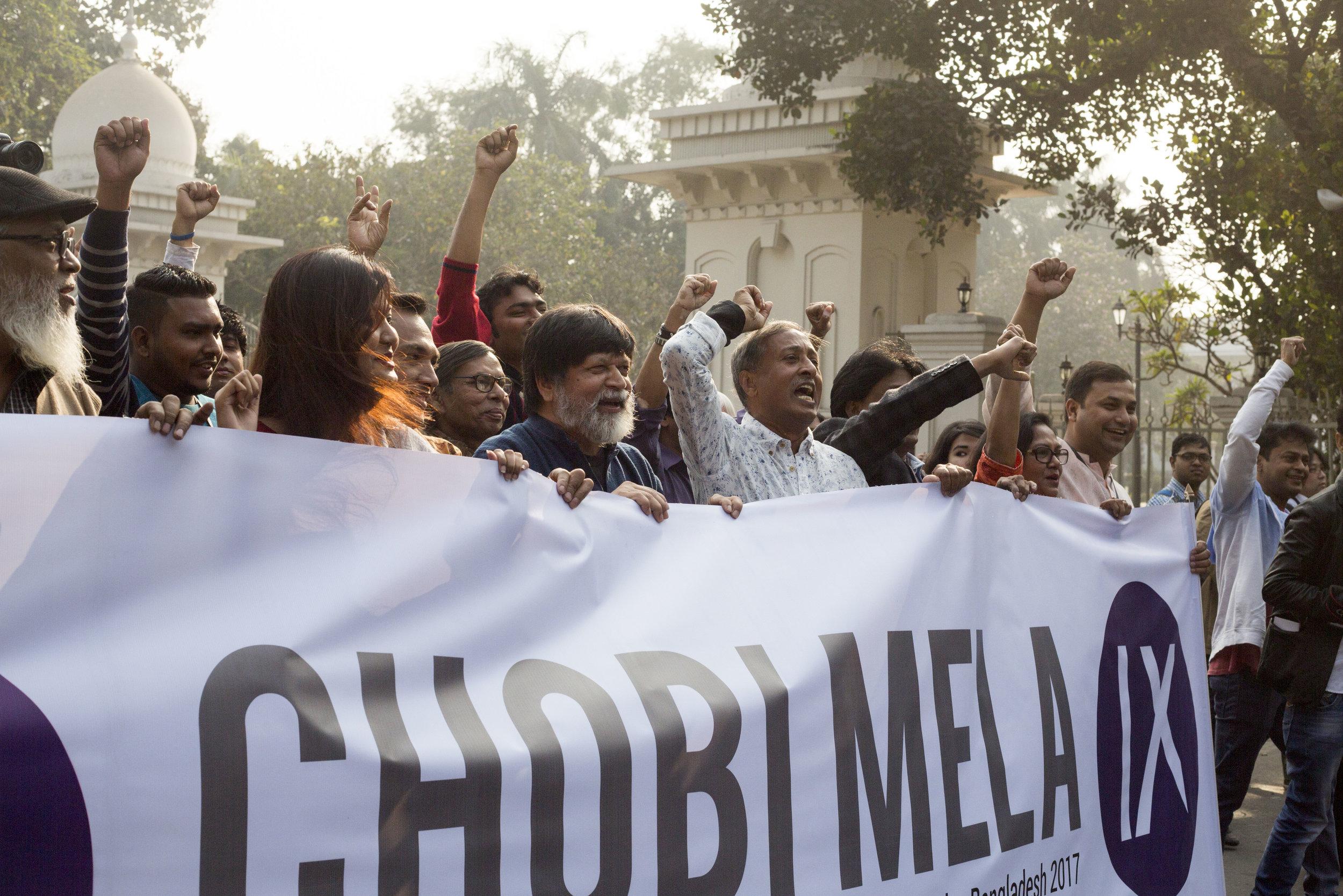 Opening Rally: Chobi Mela IX