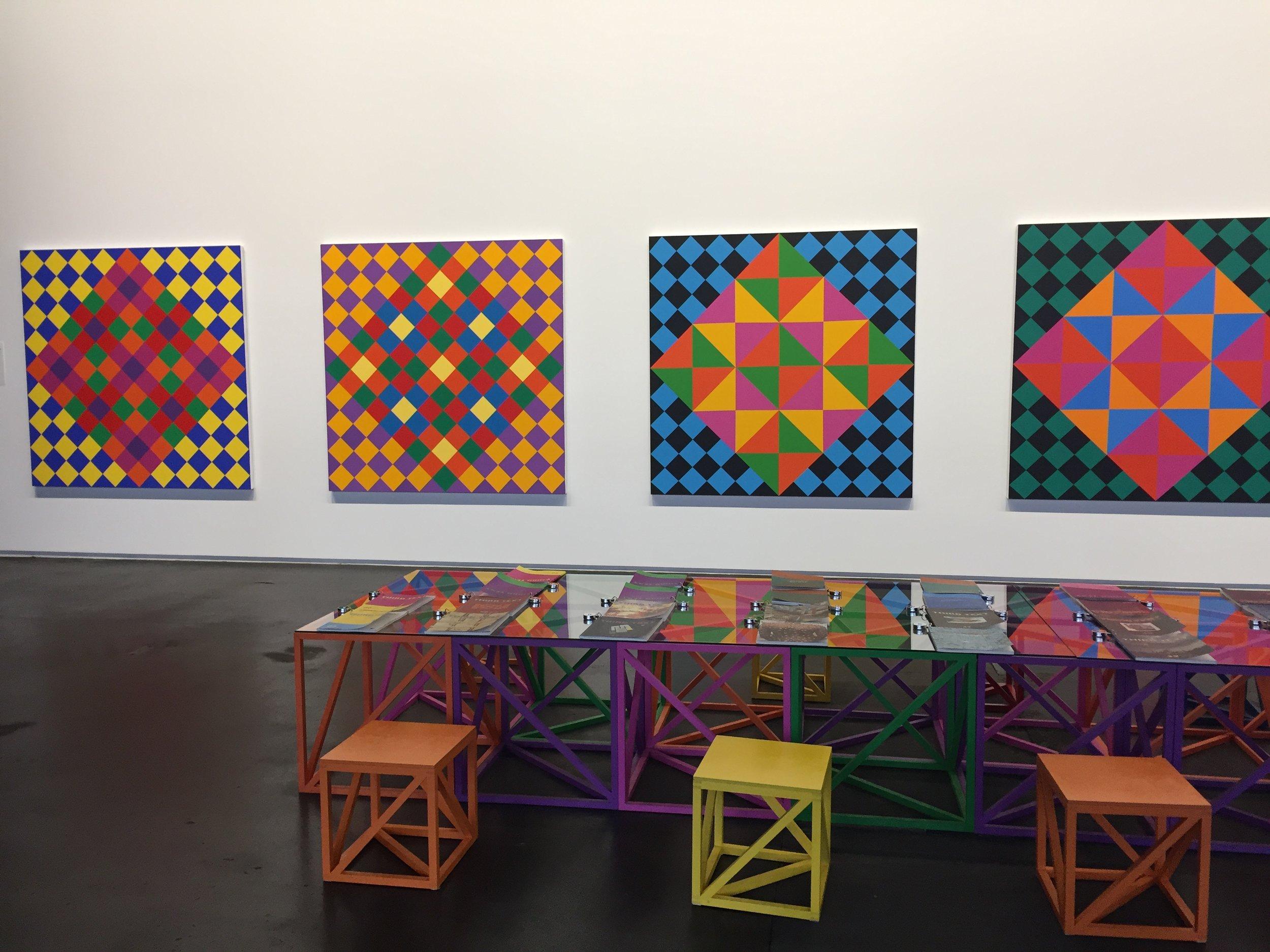 Rasheed Aareen at the Neue Neue Gallery