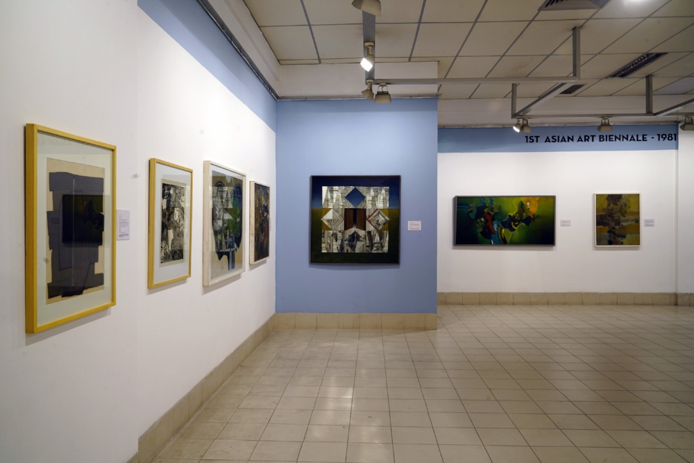 Asian Art Biennale in Context Installation Shot 1981 photo credit Pablo Bartholomew.JPG