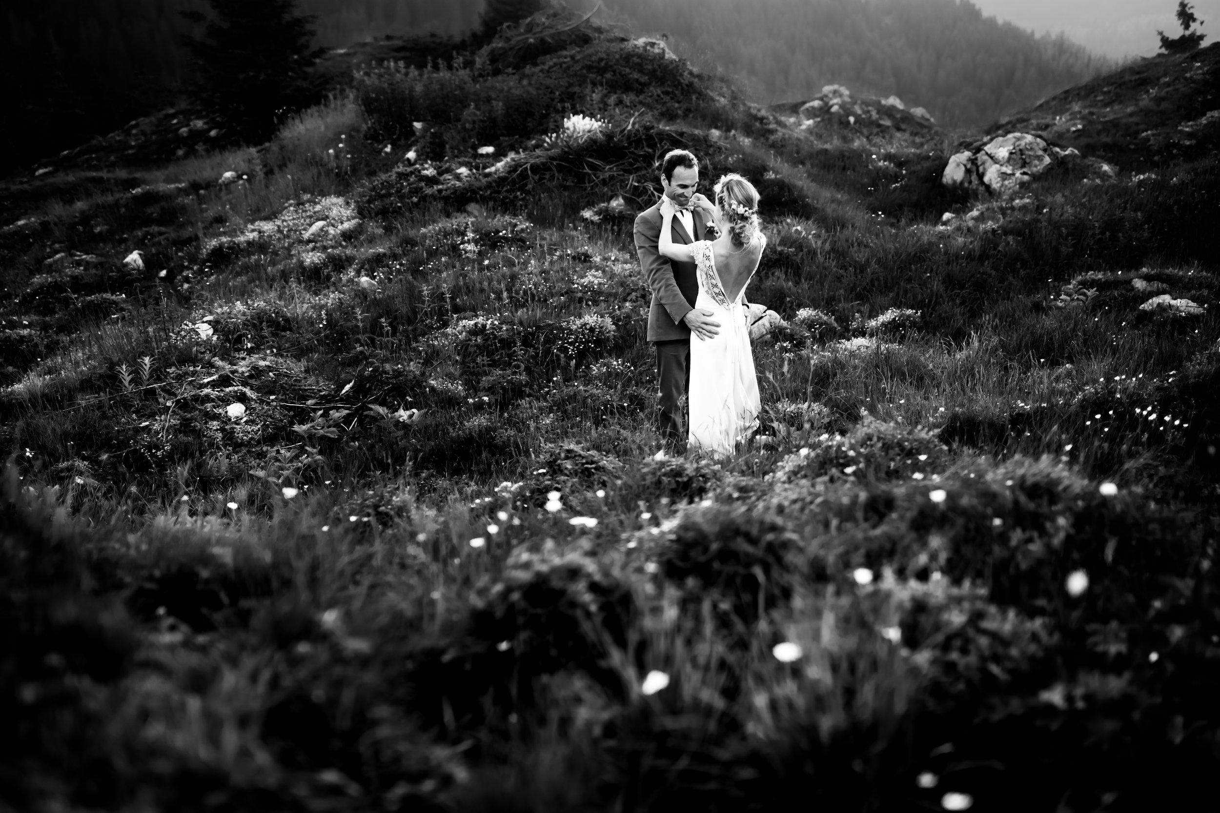 Photographe mariage haute savoie le télémark café