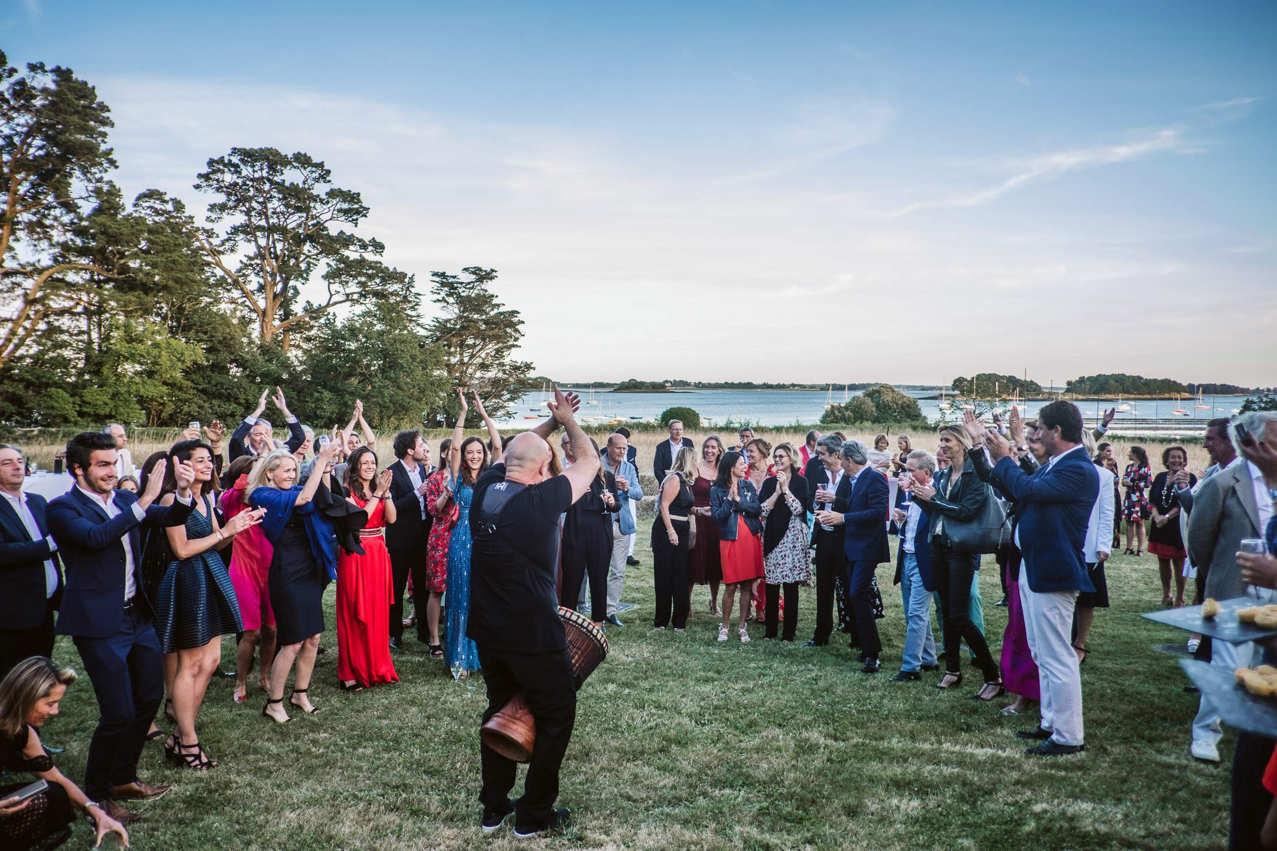 Mariage Festif dans le Golfe du Morbihan
