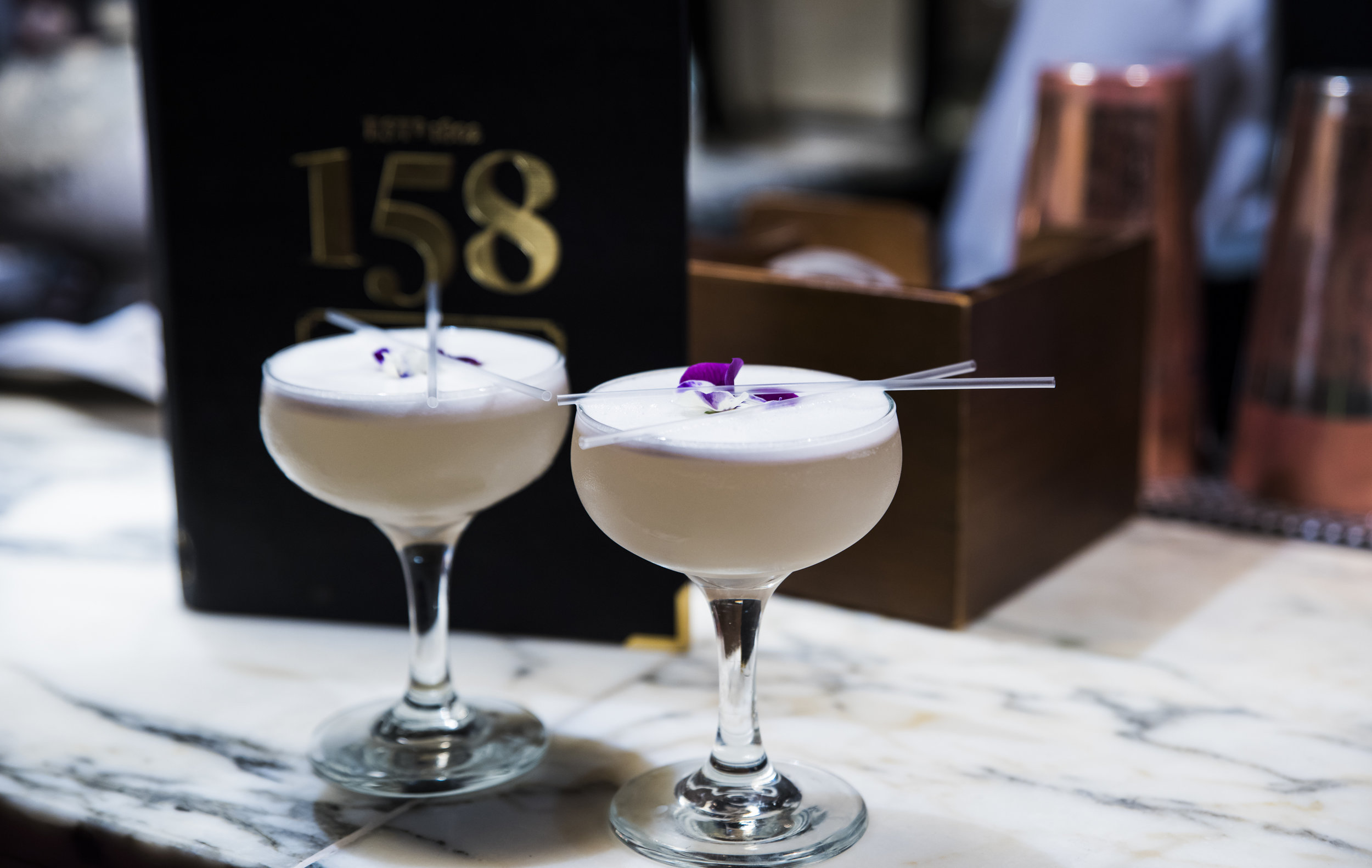 SIGNATURE COCKTAILS   All of our Signature Cocktails are just £5 each Sun - Fri in The 158 Club Lounge.