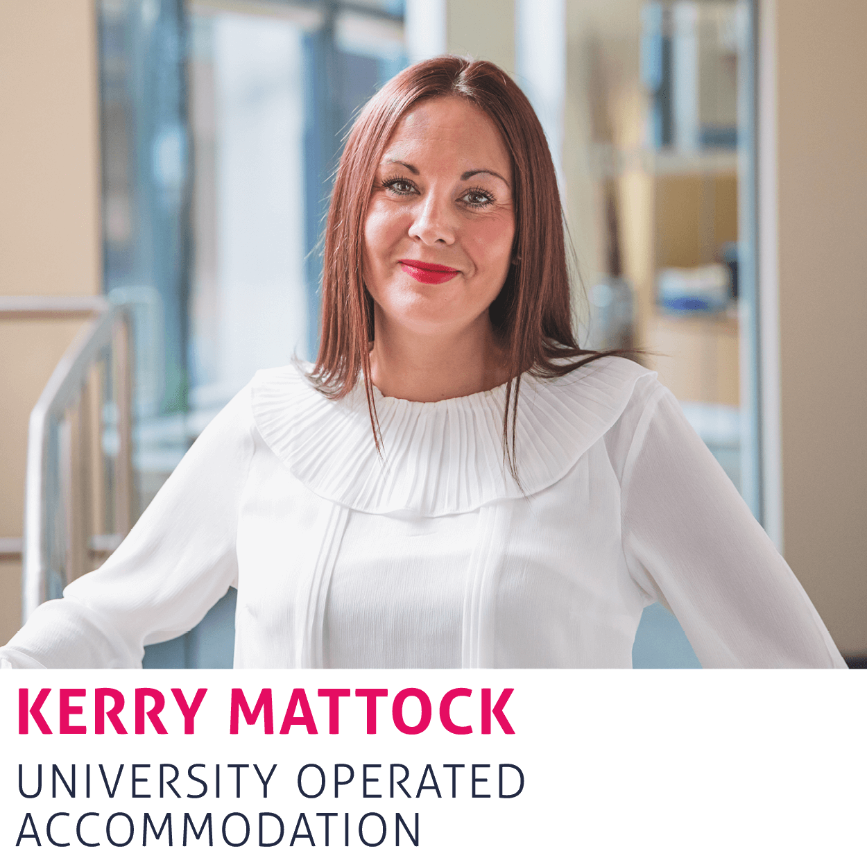 Link to Kerry Mattock's contact details.