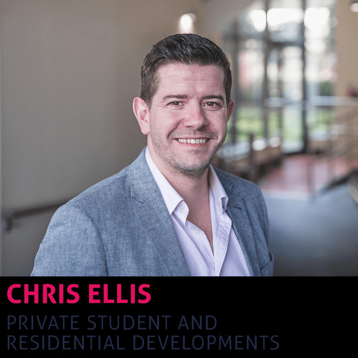 Link to Chris Ellis's contact details.