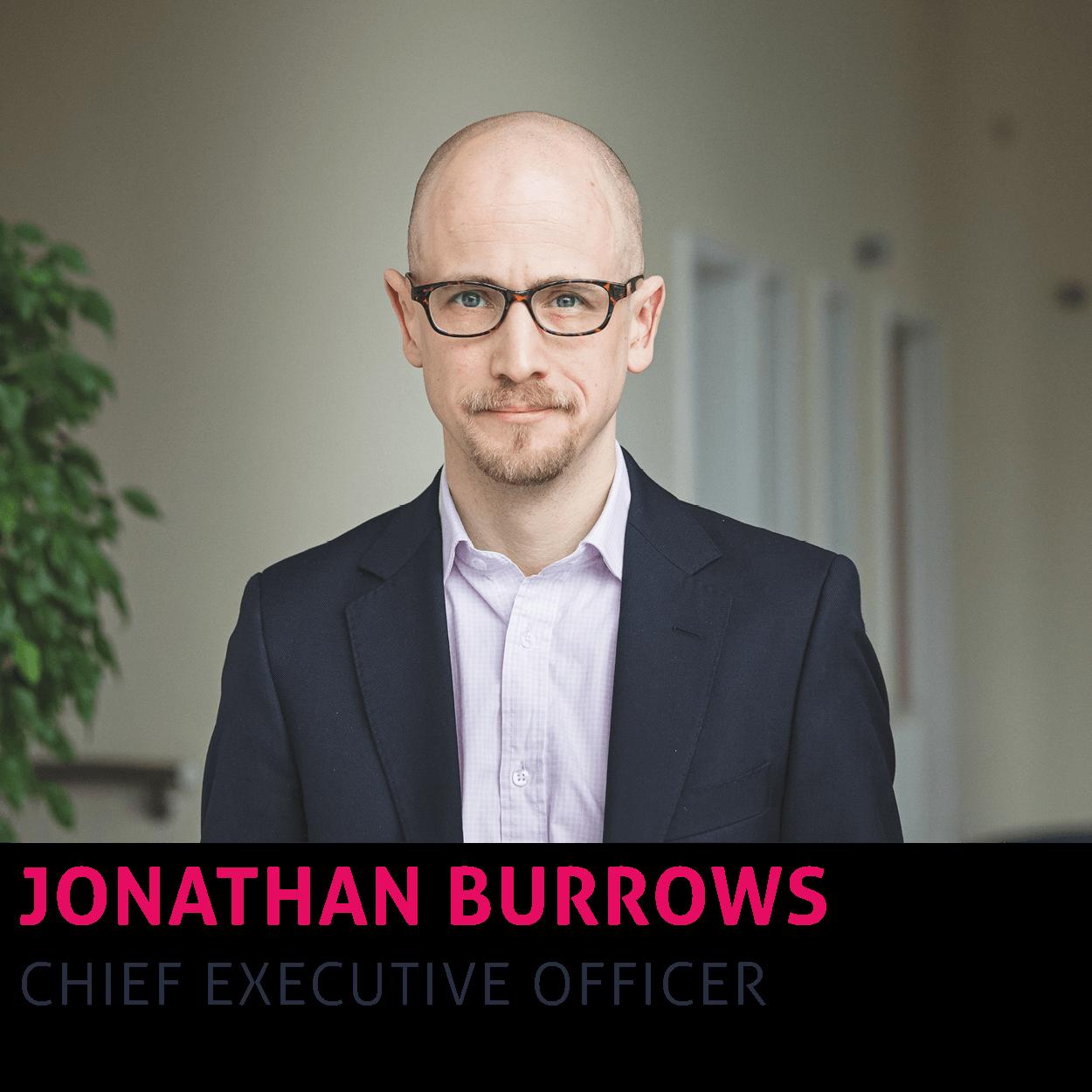 Jonathan Burrows, Chief Executive Officer