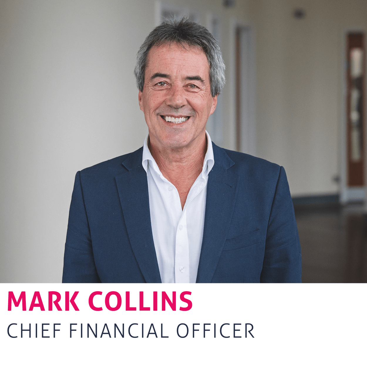 Mark Collins, Chief Financial Officer