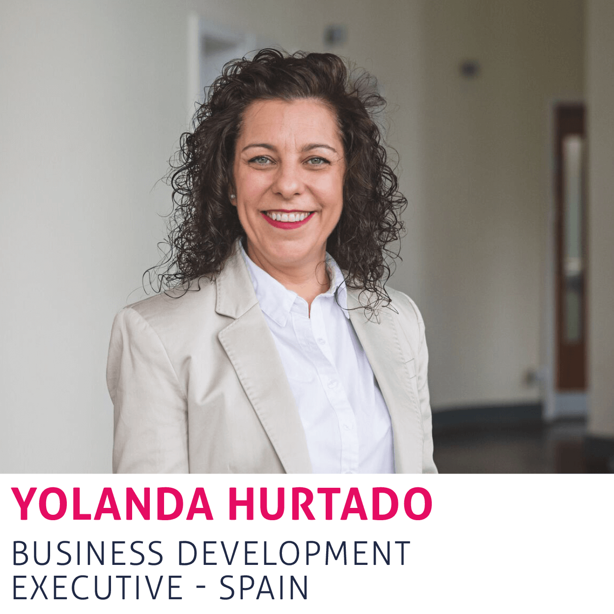 Yolanda Hurtado, Business Development Executive - Spain