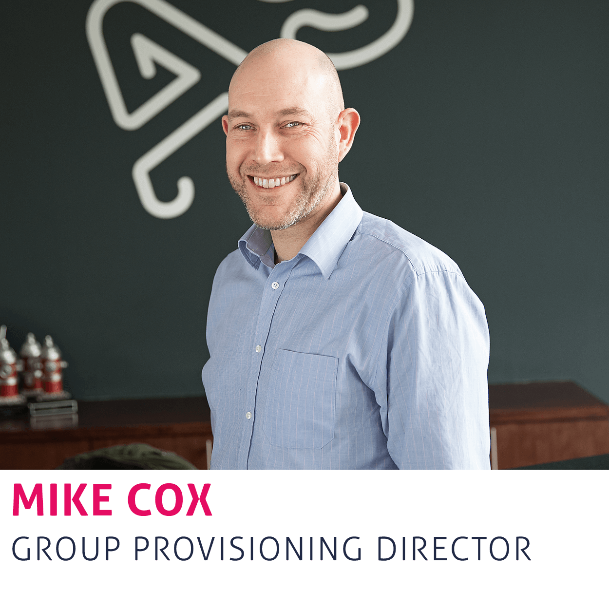 Mike Cox, Group Provisioning Director