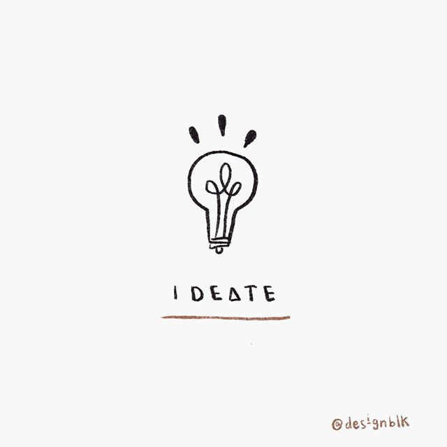 Ideation 💡〰️ The fun part of design thinking. #designblk
