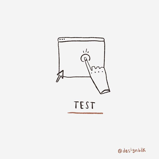 Step 5 〰️ Test: Get valuable feedback to improve on your ideas.  What are are your favorite questions and techniques to use during testing? Leave a comment below!  #designblk