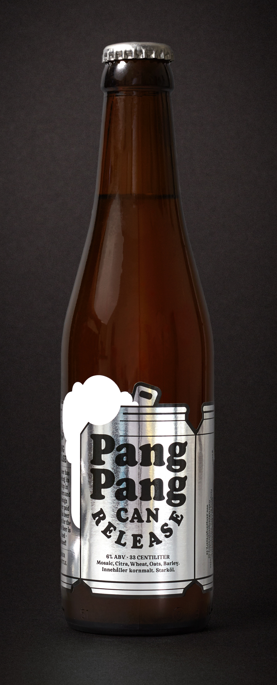 PangPang Can Release  Cloudy Can Beer. 4,5% · 33 centiliter