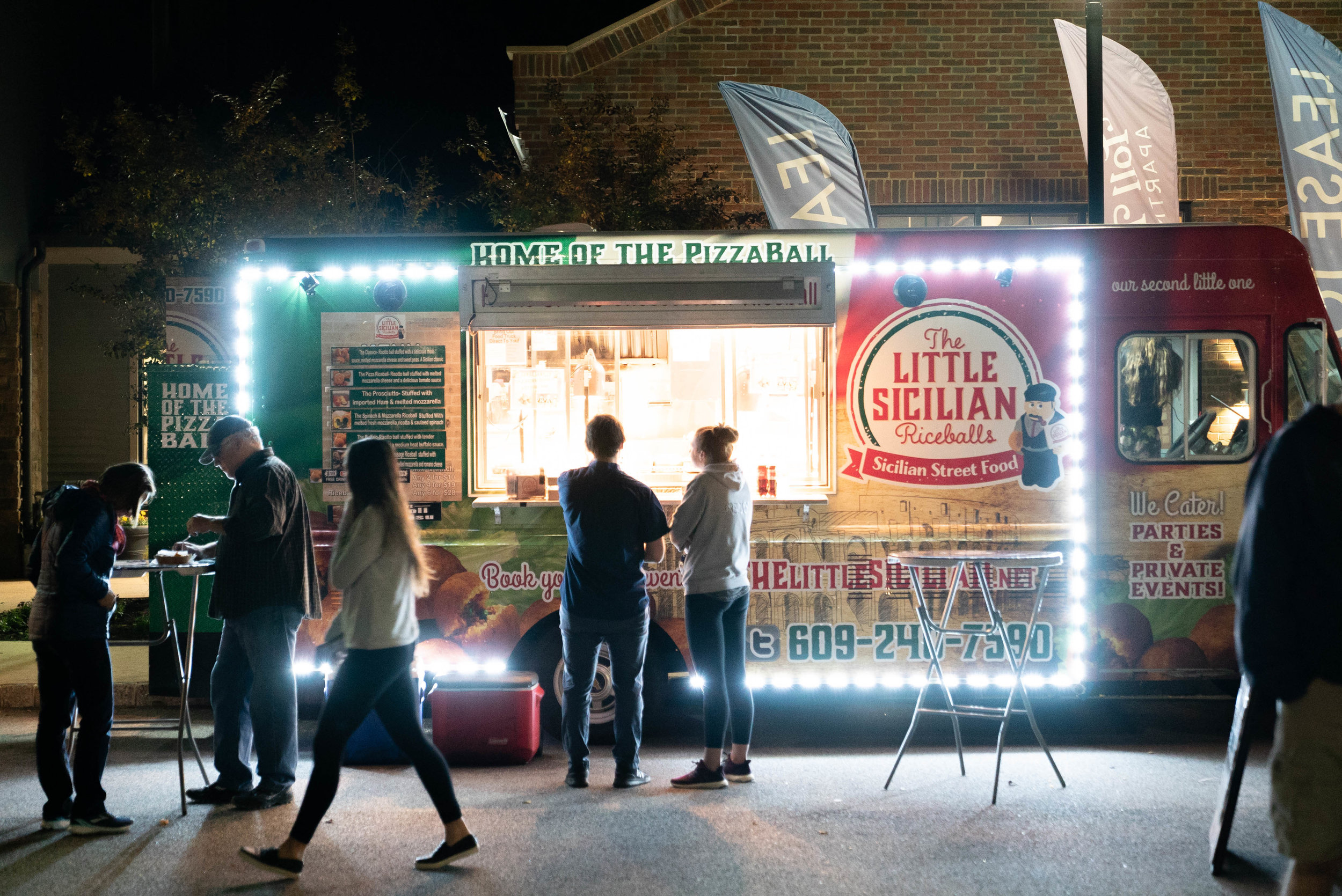Catch Food Trucks and great vendors, with live music, at Night Market on Friday, November 1st!