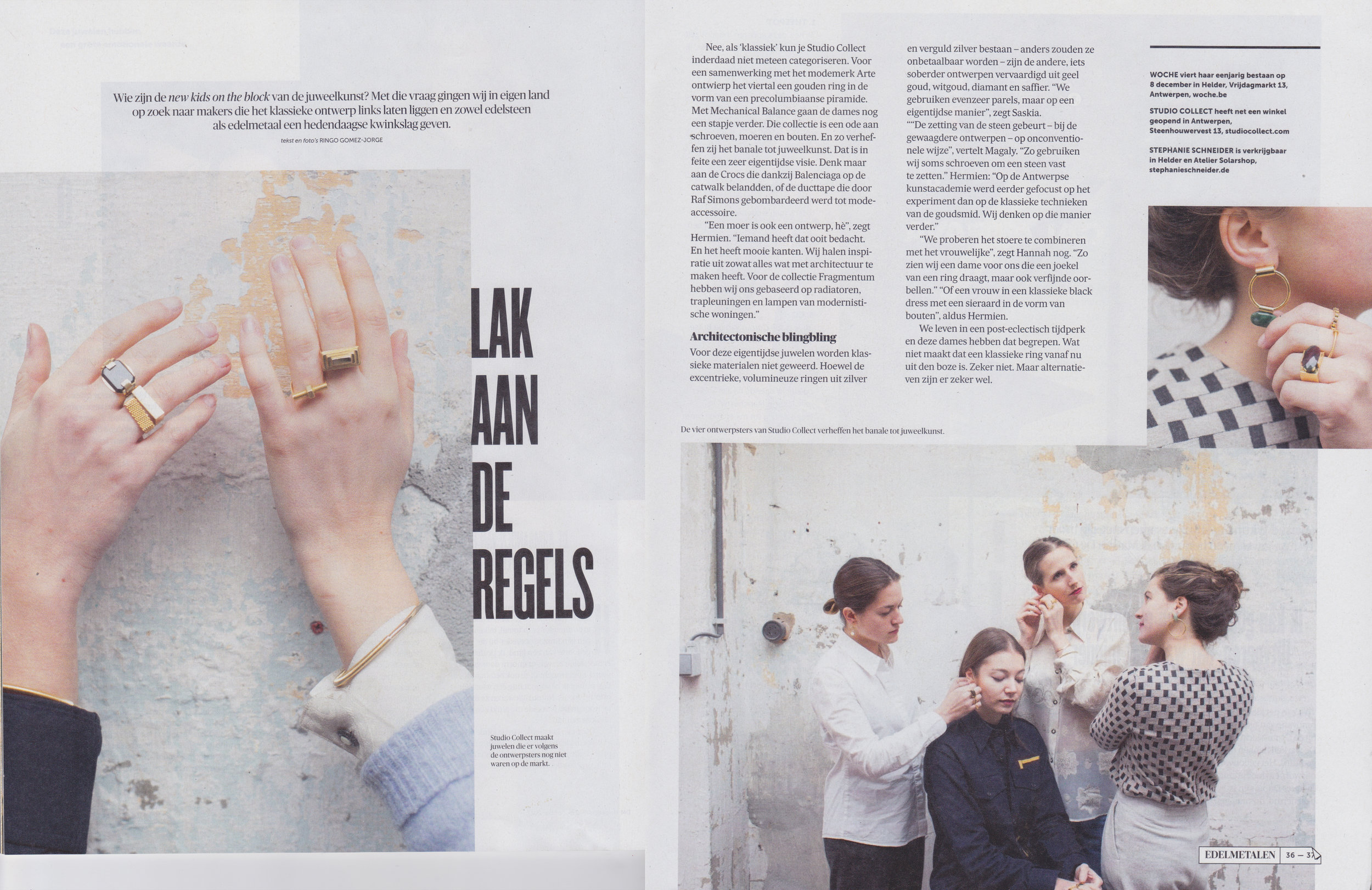 De Morgen Magazine - December 2017