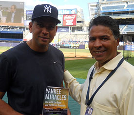 NEW YORK YANKEE ALEX RODRIGUEZ HOLDING ONE OF HIS FAVORITE TITLES!