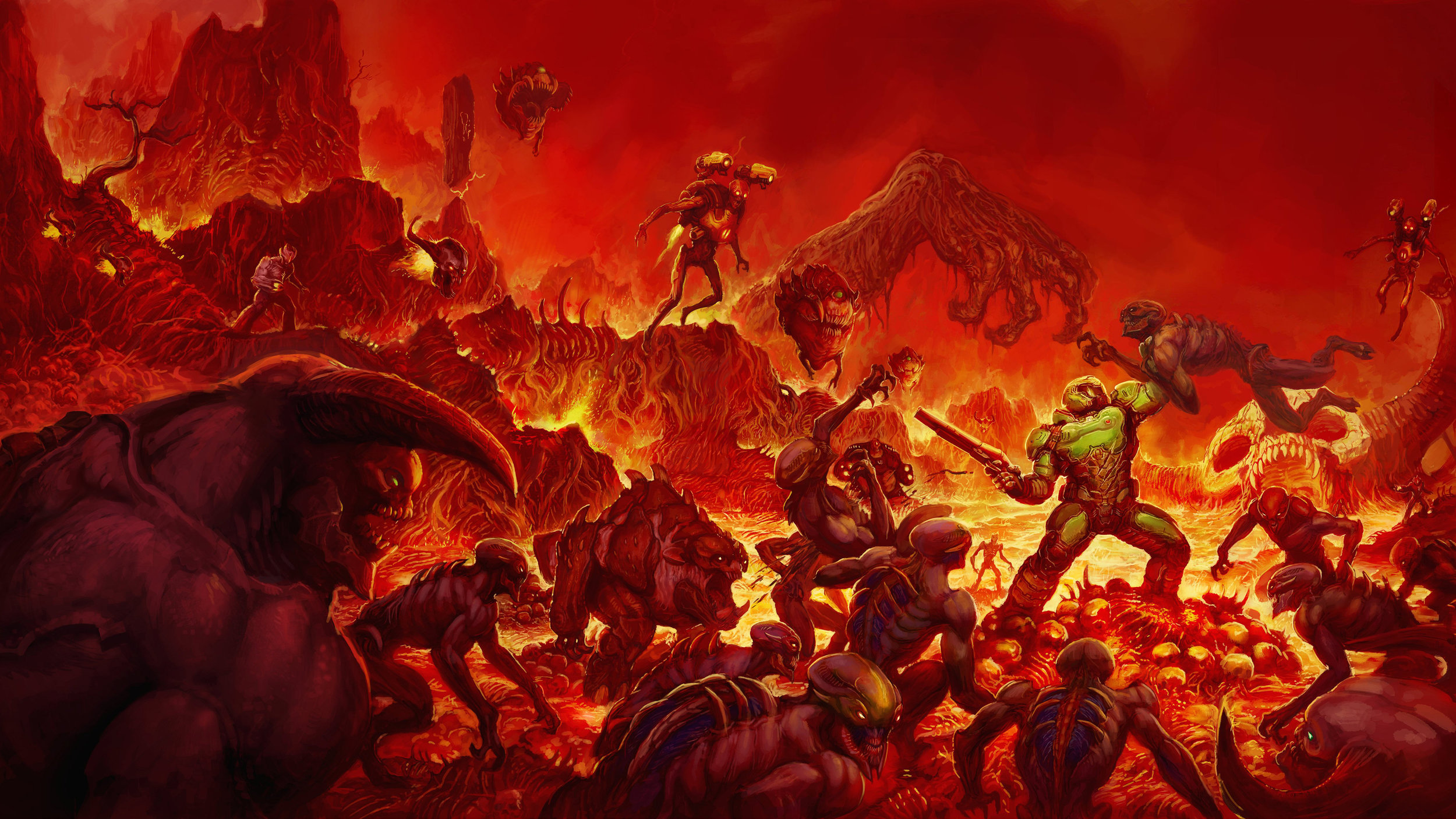 DOOM (2016) - The finest shooter to date.