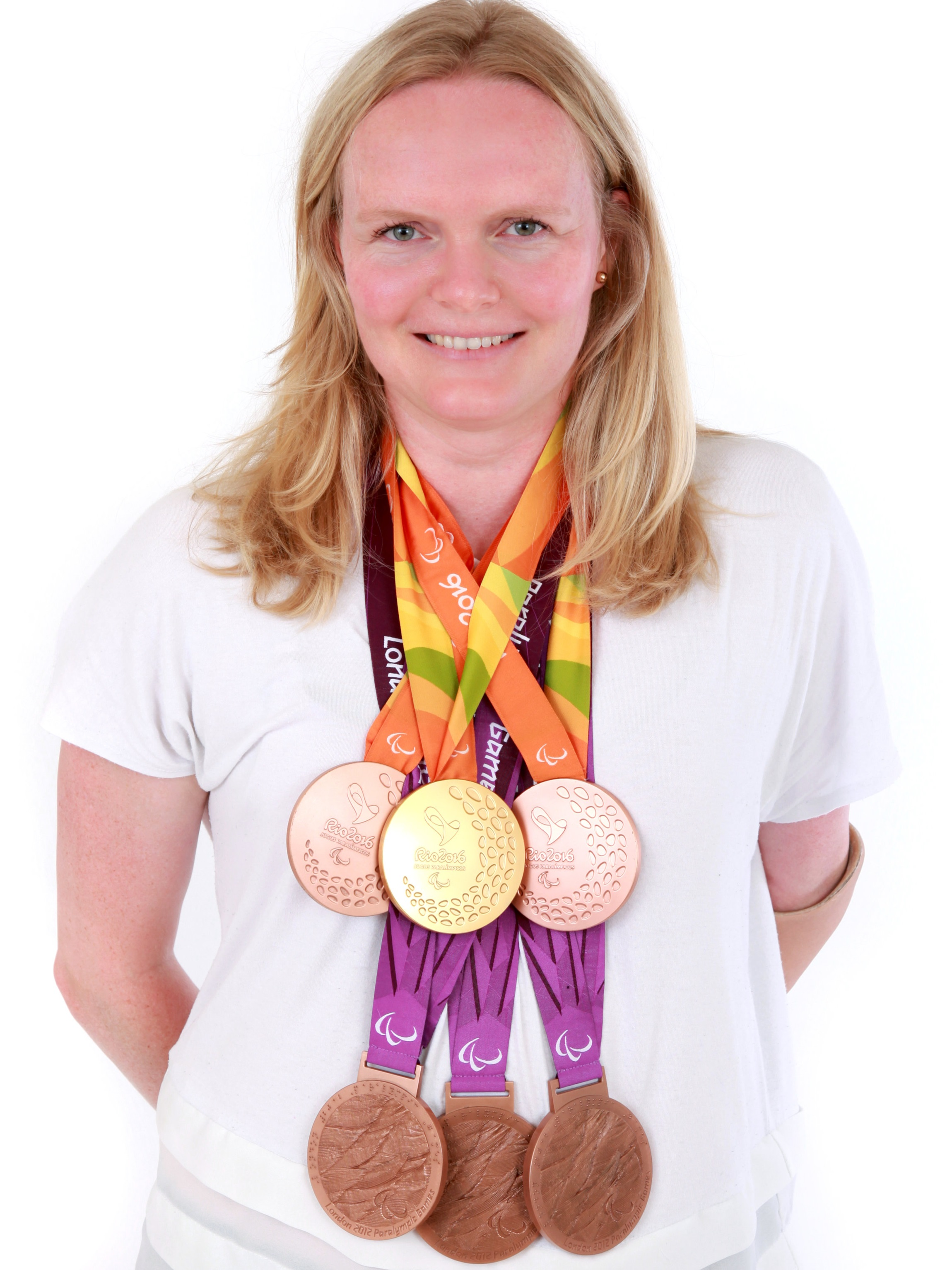 Susie has won 6 Paralympic medals during her former professional sports career as a Paralympic swimmer