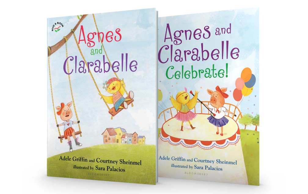 Agnes and Clarabelle - a charming and quirky new series