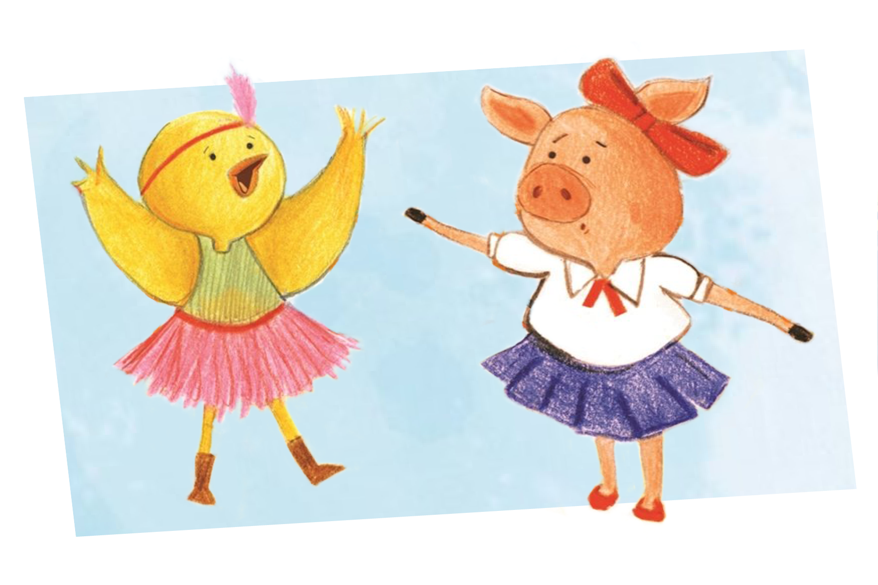 Agnes & Clarabelle - a charming and quirky series