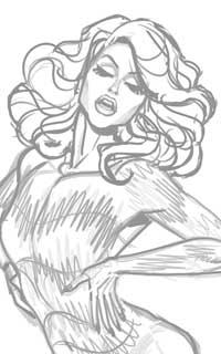 Courtney sketch
