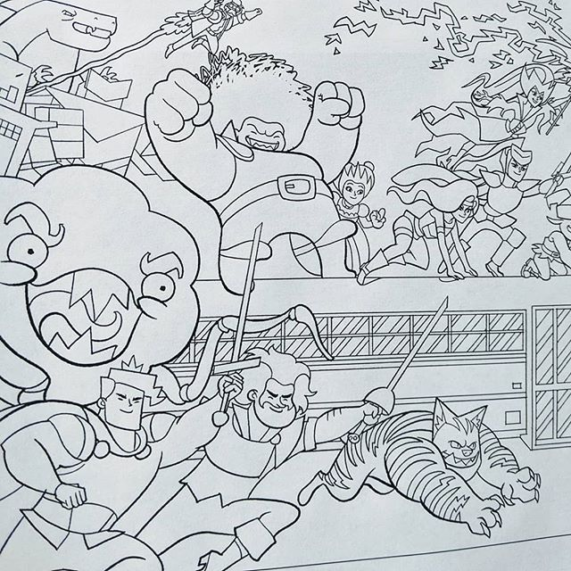 We've added four new Cardboard Kingdom coloring book pages to our website! These are all free to download and print at home or in a classroom! Link in bio!