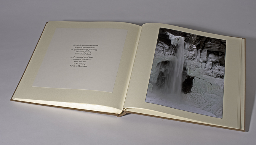 Second Limited Edition - 10 copies - open revealing last Spread.jpg