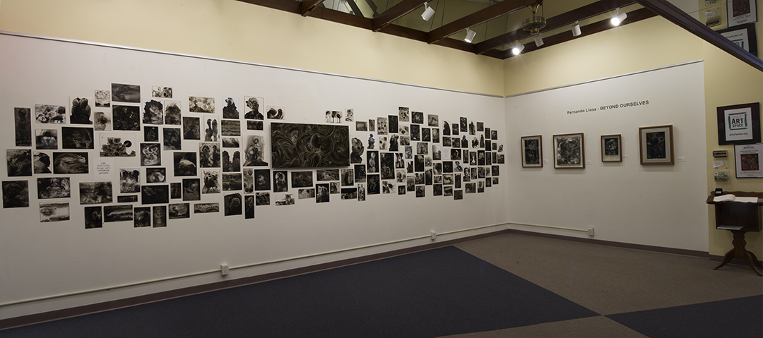 This is a partial view of the exhibit