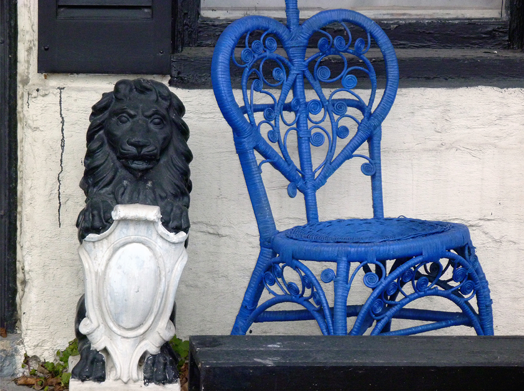 Black Lion, Blue Chair.jpg