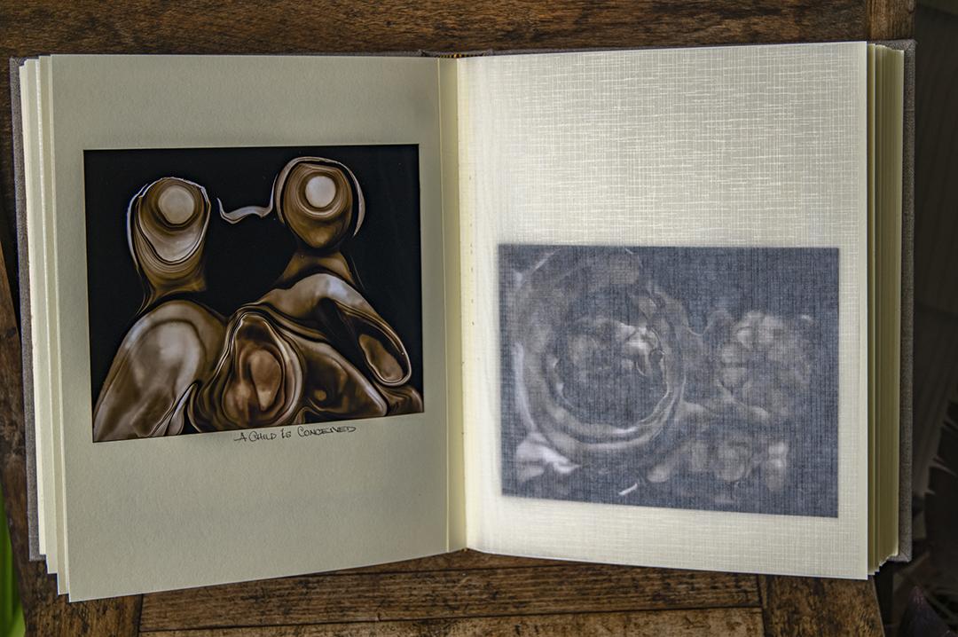 Interior, spliced prints and interleaving