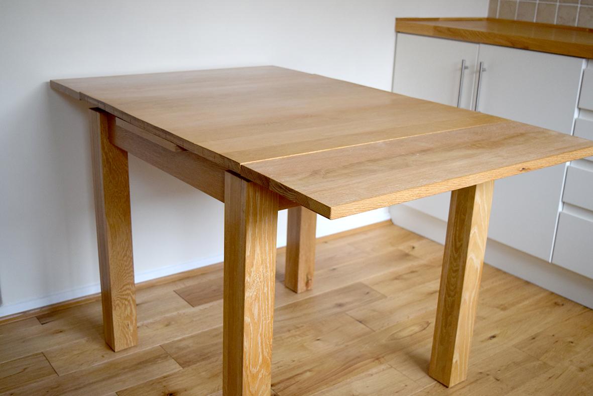 Extending table - fully extended