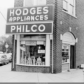 Hodges Appliances Historic Store Front #historic_eav