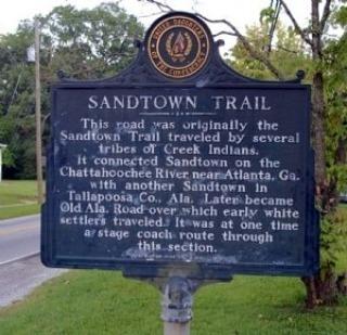 Sandtown Trail Historic Marker #historic_eav