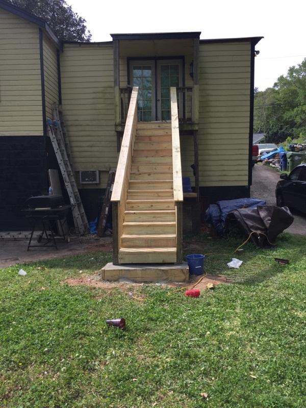 Baeburn (2015) Dangerous Stair Repair