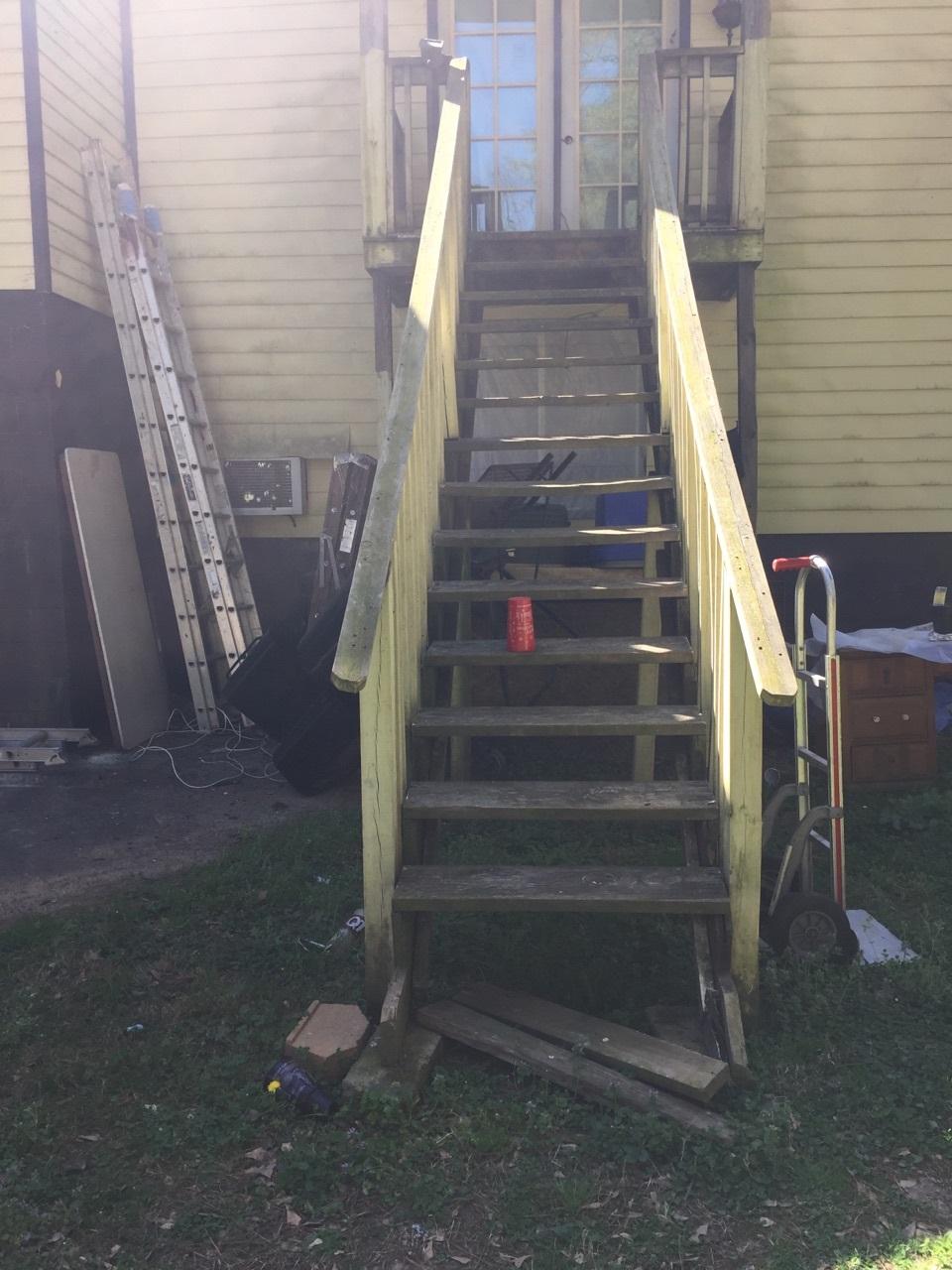 Baeburn (2015) -Dangerous Stair Repair