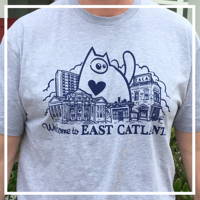 EACA's 2017 Shirt Design: Welcome to East Catlanta!