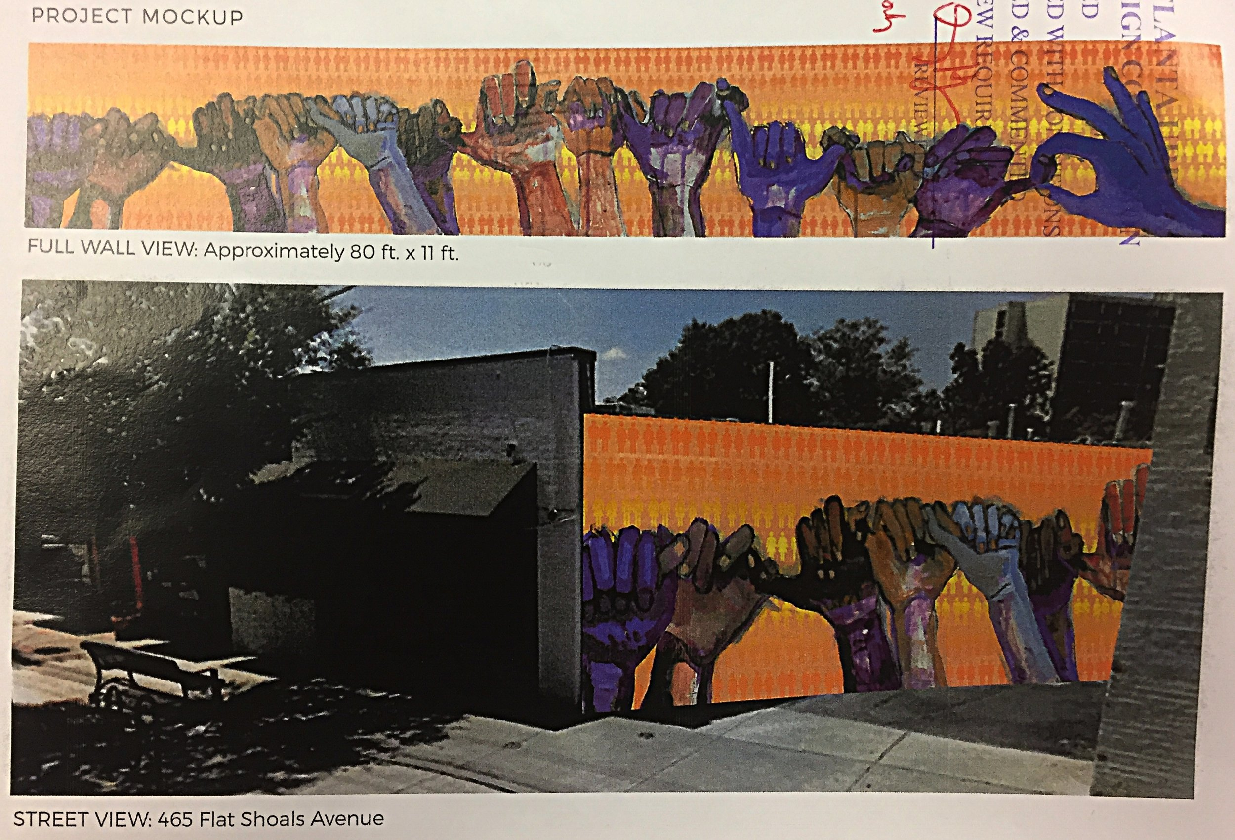 Potential Mural to be added to EAV