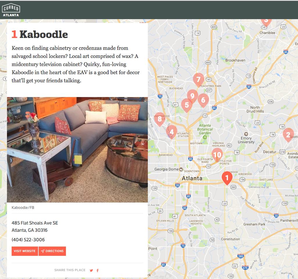 East Atlanta Curbed Kaboodle Design Furniture Stores