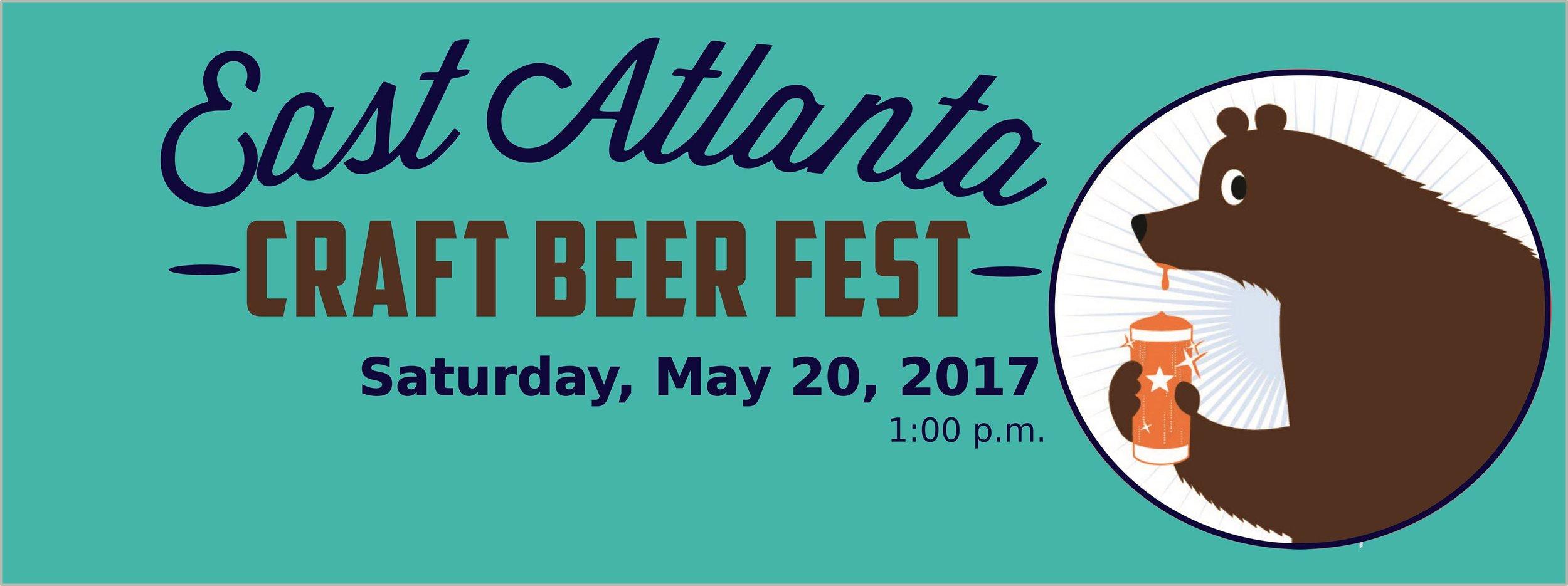 East Atlanta Craft Beer Fest, Beer Bear, EACA